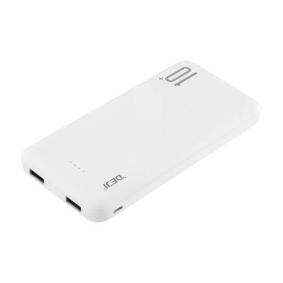 Deji Powerbank 10000 mAh Taşınabilir Şarj Cihazı Beyaz